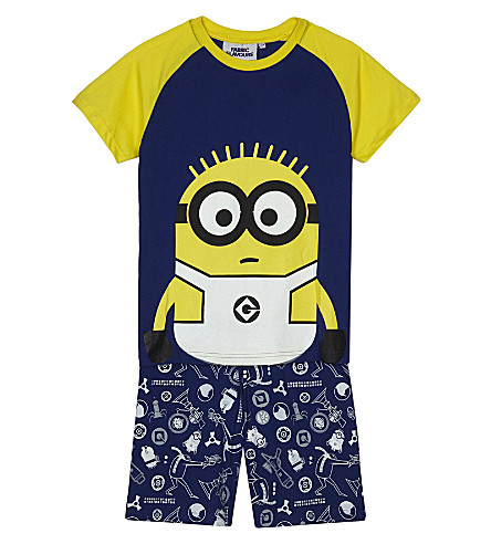 FABRIC FLAVOURS Minions cotton pyjama set 3-8 years (Blue