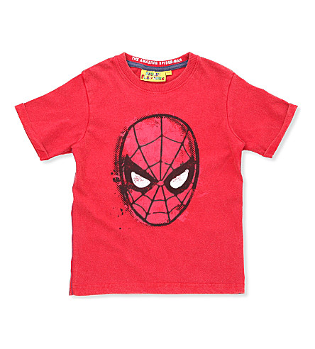 FABRIC FLAVOURS Spider-Man T-shirt 3-8 years (Red