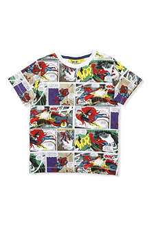 FABRIC FLAVOURS Spiderman comic t-shirt 3-8 years