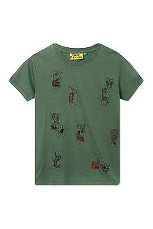 FABRIC FLAVOURS Spiderman badge t-shirt 3-10 years