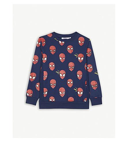 FABRIC FLAVOURS Spider-Man cotton sweatshirt 3-10 years (Blue
