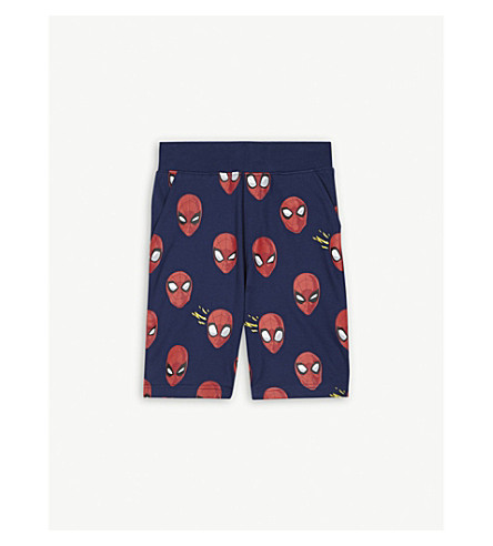 FABRIC FLAVOURS Spider-Man cotton shorts 3-10years (Blue