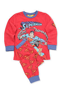FABRIC FLAVOURS Superman pyjamas 3-8 years