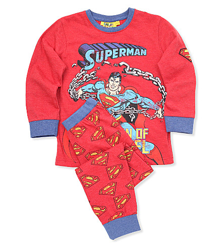FABRIC FLAVOURS Superman pyjamas 3-8 years (Red