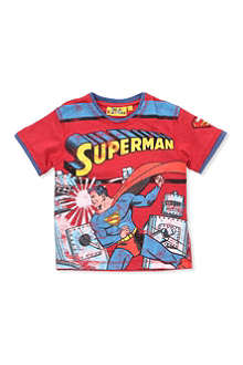 FABRIC FLAVOURS Superman t-shirt 3-8 years