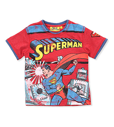 FABRIC FLAVOURS Superman t-shirt 3-8 years (Red