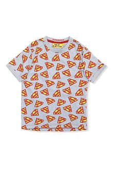 FABRIC FLAVOURS Superman logo t-shirt 3-8 years