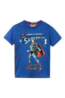 FABRIC FLAVOURS Superman in chains t-shirt 3-10 years