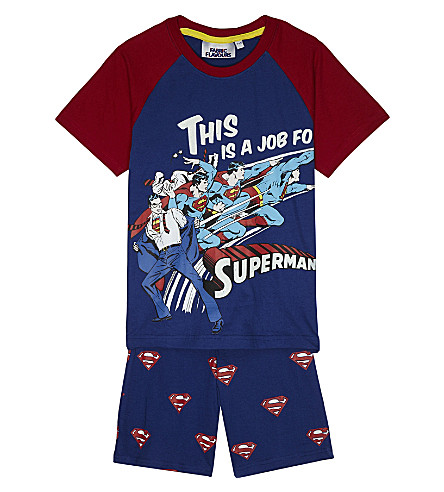 FABRIC FLAVOURS Superman pyjamas set (Blue