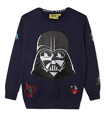 FABRIC FLAVOURS Darth Vader jumper 3-10 years (Blue+marl