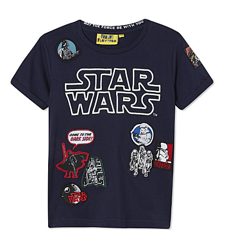 FABRIC FLAVOURS Star Wars t-shirt 3-10 years (Blue+marl