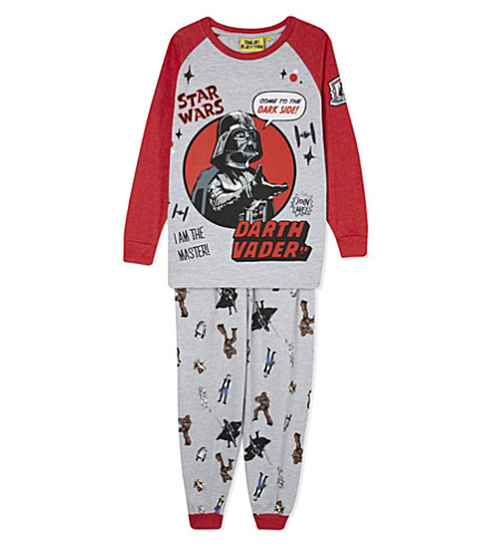 FABRIC FLAVOURS Darth Vader pyjamas 3-10 years (Grey+&+red