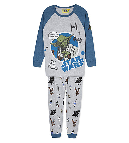 FABRIC FLAVOURS Yoda Jedi Master 3-10 years (Grey+&+green