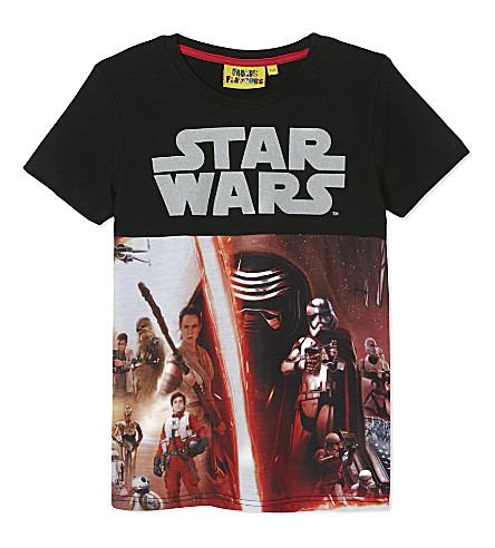 FABRIC FLAVOURS Star Wars episode 7 T-shirt 3-10 years (Multi