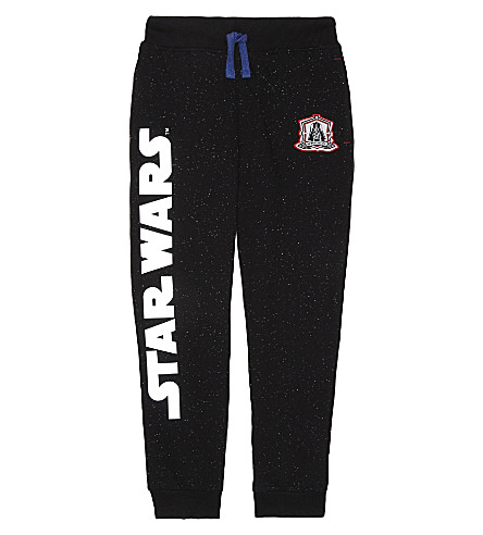 FABRIC FLAVOURS Star Wars cotton tracksuit bottoms 3-10 years (Black