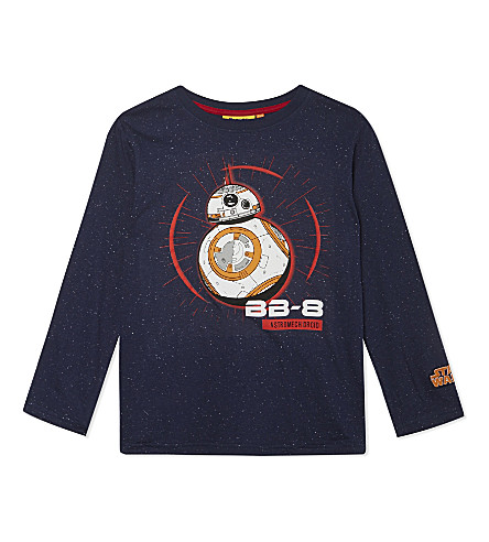 FABRIC FLAVOURS BB-8 speckled cotton top 5-10 years (Multi