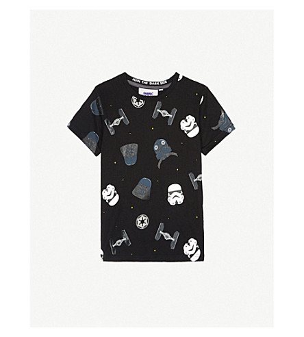 FABRIC FLAVOURS Imperial cotton T-shirt 3-8 years (Black