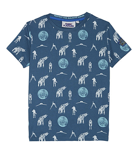 FABRIC FLAVOURS Star Wars Rogue 1 cotton T-shirt 3-8 years (Blue