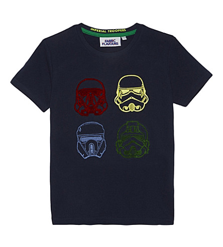 FABRIC FLAVOURS Star Wars 流氓一棉 T 恤 3-8 岁(海军