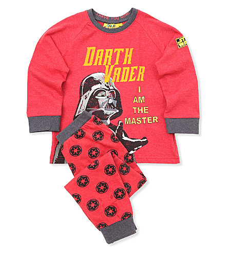 FABRIC FLAVOURS Star Wars Darth Vader pyjamas 3-8 years (Red