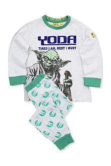 FABRIC FLAVOURS Star Wars Yoda pyjamas 3-8 years