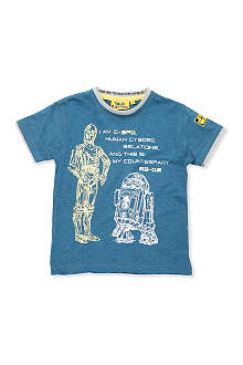 FABRIC FLAVOURS Star Wars Cyborg t-shirt 3-8 years