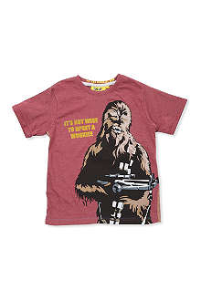 FABRIC FLAVOURS Star Wars Chewbacca t-shirt 3-8 years