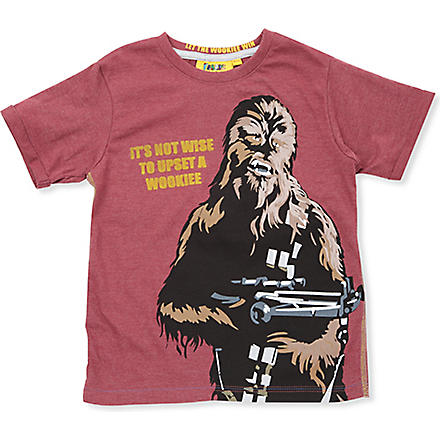 FABRIC FLAVOURS Star Wars Chewbacca t-shirt 3-8 years (Pomergrante