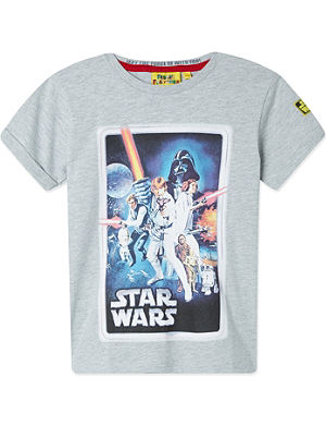 FABRIC FLAVOURS Star Wars 'A New Hope' poster t-shirt 3-8 years