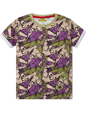 FABRIC FLAVOURS Camo Spiderman t-shirt 3-10 years