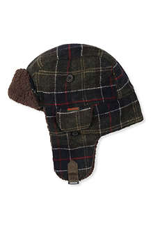 BARBOUR Barbour wool tartan hunter hat XS-L