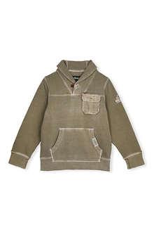 BARBOUR Port pocket shawl jumper L-XXL