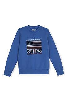 BARBOUR Steve McQueen sweatshirt L-XXL