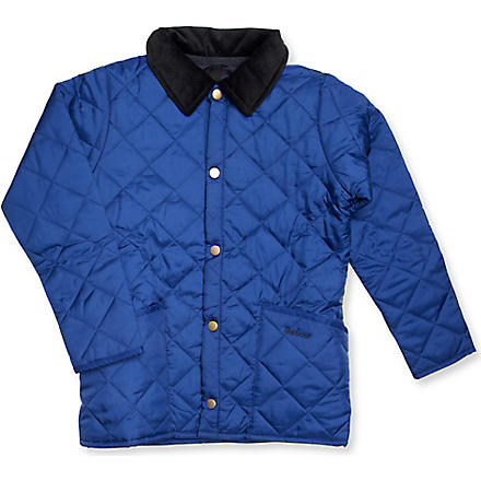 BARBOUR Liddesdale jacket 2-15 years (Atlantic+blue