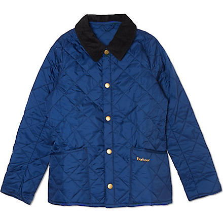 BARBOUR Quilted Liddesdale jacket 2-15 years (Blue