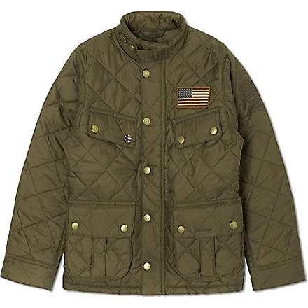 BARBOUR Jeffries qulted jacket (Olive