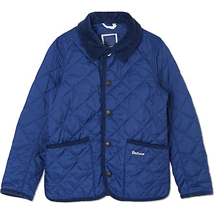 BARBOUR Hue quilted jacket (Blue