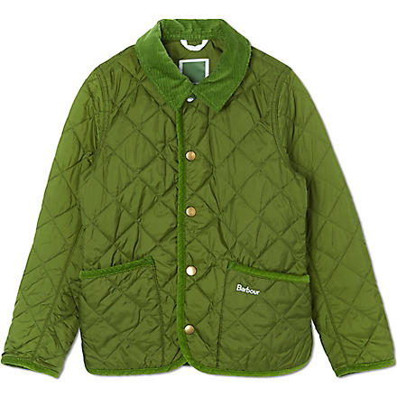 BARBOUR Hue quilted jacket (Green