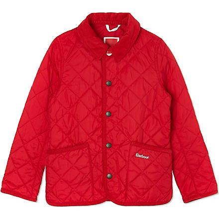 BARBOUR Hue quilted jacket (Red