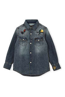 BARBOUR Navaho denim shirt XXS-XXL