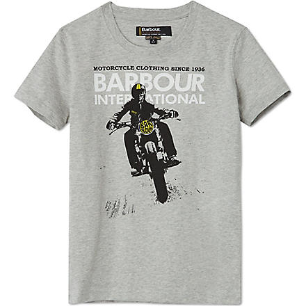 BARBOUR Lynton t-shirt XXS-XXL (Grey