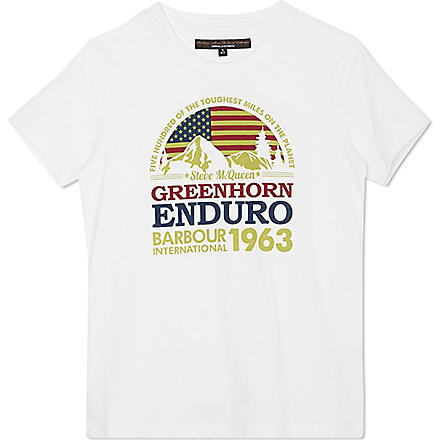 BARBOUR Globe t-shirt (White
