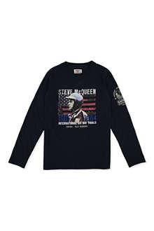BARBOUR Steve McQueen print t-shirt