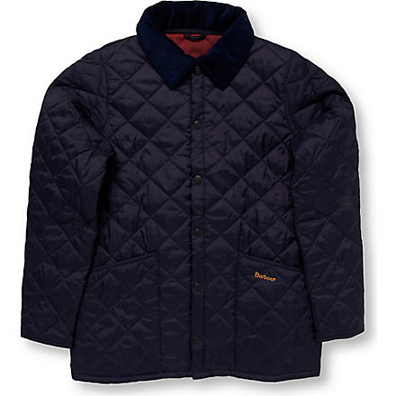 BARBOUR Union Jack Liddesdale jacket 2-15 years (Navy