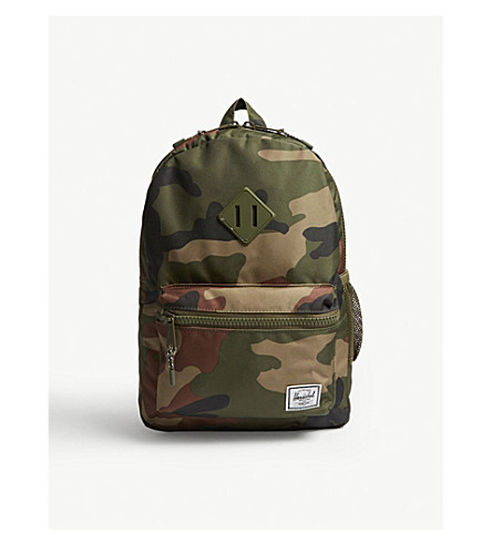 HERSCHEL SUPPLY CO Heritage Youth camouflage print backpack