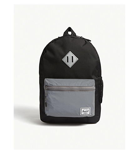 HERSCHEL SUPPLY CO Heritage Youth metallic pocket backpack