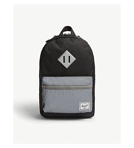 HERSCHEL SUPPLY CO Heritage reflective canvas backpack
