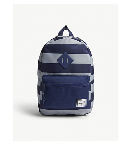 HERSCHEL SUPPLY CO Heritage striped canvas backpack