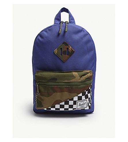HERSCHEL SUPPLY CO Herschel Supply Co. heritage backpack (Deep+ultramarine
