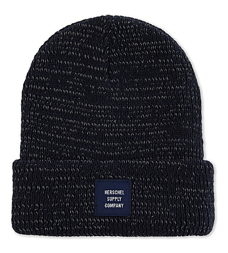 HERSCHEL SUPPLY CO Abbott knitted beanie (Navy+reflective